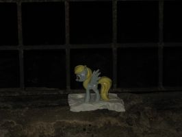 Derpy in the St. Stephans Cathedral catacombs by CMC--Scootaloo