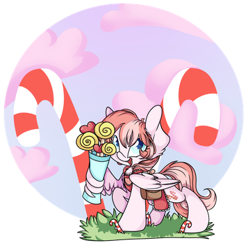 [Comission]-Candy Seller by CutePencilCase
