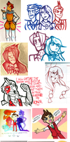 sketchdump: LAWYERS EDITION by SkyJukebox