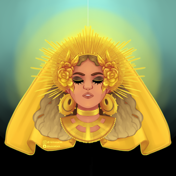 blessed be-yonce by msdeerborn