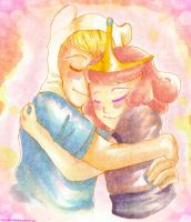 Give me a hug, hero by miumiuchuu