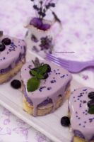 Honey Lemon Lavender Tea Cake (multi photos) by theresahelmer