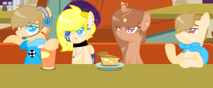 ME AND MY FRIEND EATING by Galexy702playsRoblox