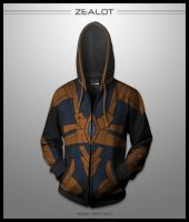 Protoss Zealot Hoodie by seventhirtytwo