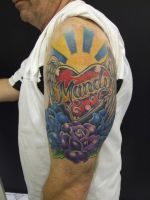 Mandy Has His Heart Tattoo by mxw8