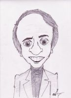 Carl Sagan by ZZTrujillo