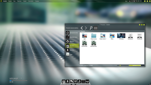 Kubuntu 12.10 (Dolphin V1) by Action102090