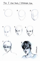 How I'd Draw - Heads by skcolb