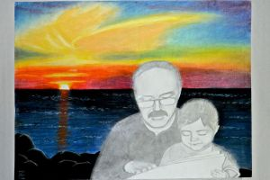 Dad and Me by sing2mi