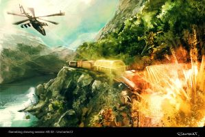 Uncharted 2 by Samkaat