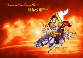 Keeper of the Light Dota 2 Chinese New Year 2014 by n2c