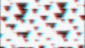 Anaglyph Triangles by CMA3D