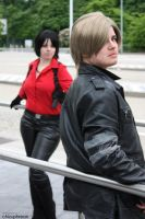 Ada and Leon by ParadiseFallsCosplay