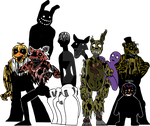 Five Nights at Freddy's 3 by Dragon-Flash