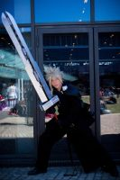 Cloud strife : Encounter by Wanderkitsun3