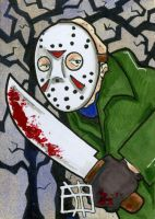 Friday the 13th - Jason Vorhees by 10th-letter