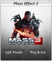 Mass Effect 3 - Icon 2 by Crussong
