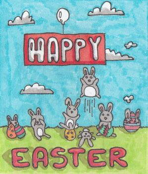 Happy Easter! :) by Mista-Harry