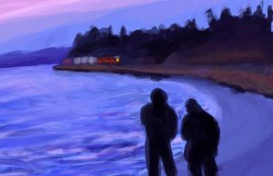 Edmonds Beach by ElizaWyatt
