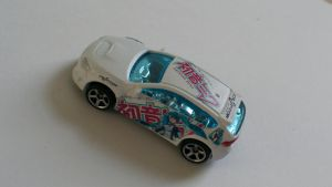Hot Wheels itasha Miku Impreza by Anths95