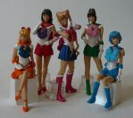 PGSM Set of 5 Gashapon by SakkysSailormoonToys