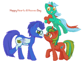Hearts and Hooves Day by Aramande