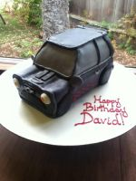 Mini Cooper Cake by PMconfection