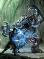 The Force Unleashed. by chrisscalf