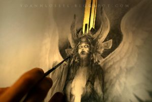 Fatae... Work in progress 2... Summoning the Depth by Yoann-Lossel