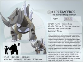 Frozencorundum 105 Diaceros by shinyscyther