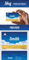 Sky - Business Card Template by DOMDESIGN