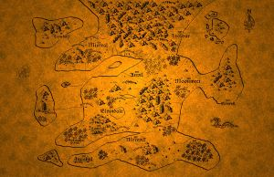 A Map for RPG Setting WIP by lundi
