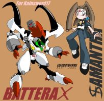 Battrax and Samantha by NeoSlashott