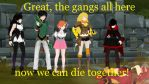 RWBY Yang Xao Long funny quote by chrispwnz95