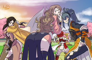 Commission - Fire Emblem Glutes The Final by Axel-Rosered