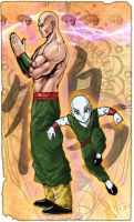 Tien master of the hidden arts by scott see by scottssketches