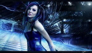 CyberGoth by GuilleBot