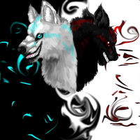 2 sides of shdw-remake-GIFT by 9tailsfoxyfoxy