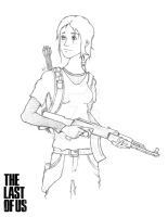 The Last of Us - Ellie [Grown Up] by Ventus08