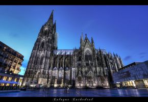 Cologne Cathedral by erhansasmaz