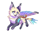 (Foxfan) See me fly! - Kaze by Paper-Rabbit