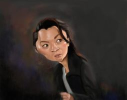 Michelle Yeoh by DoodleArtStudios