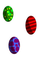 Easter eggs by XxPuppyProductionsxX