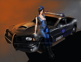 Cop Officer complet by Jan-ilu