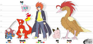 Height Chart - Team Kick@$$ by YinDragon