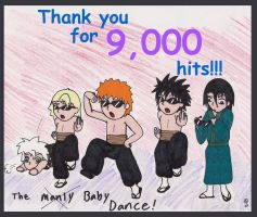 Thanks for 9,000 Hits by swirlheart