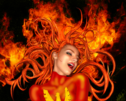 red phoenix burning by ttbloodlusttt