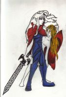 Elric and Arioch by iggygirl
