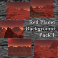 Red Planet Background Pack 1 by Pyrosaint-Stox