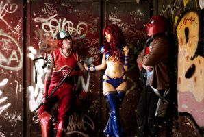 Red Hood And The Outlaws Cosplay - Meeting again by WhiteLemon